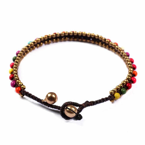 Anklet Multi Color-Anklet-Lannaclothesdesign Shop-Lannaclothesdesign Shop