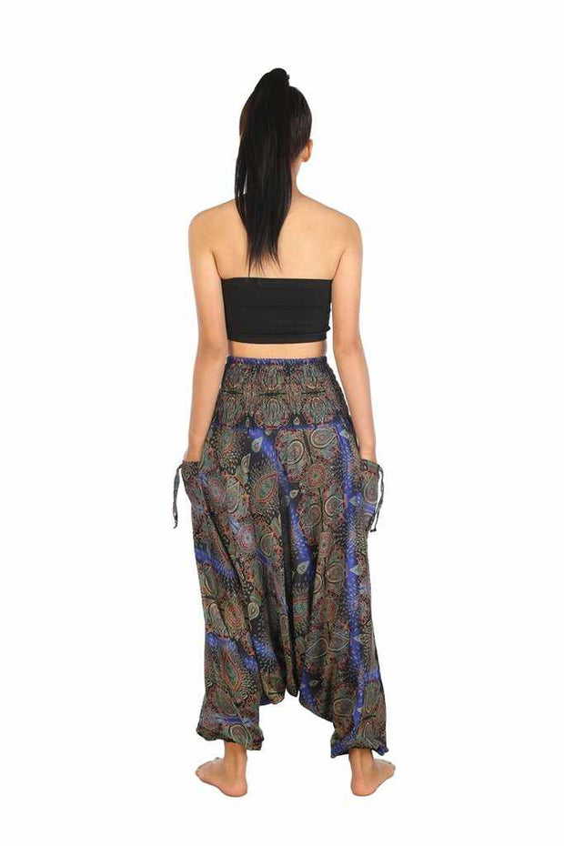 Baggy Harem Pants-Harem Jumpsuit-Lannaclothesdesign Shop-Lannaclothesdesign Shop