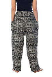 Elephant Harem Pants-Drawstring-Lannaclothesdesign Shop