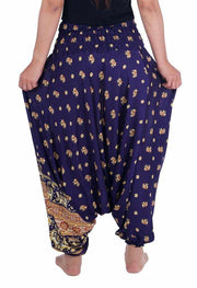 Elephant Harem Pants-Harem Jumpsuit-Lannaclothesdesign Shop