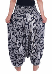Harem Pants 2in1 Jumpsuit-Harem Jumpsuit-Lannaclothesdesign Shop