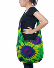 Hippie Sling Tie Dye Bag-Bags-Lannaclothesdesign Shop