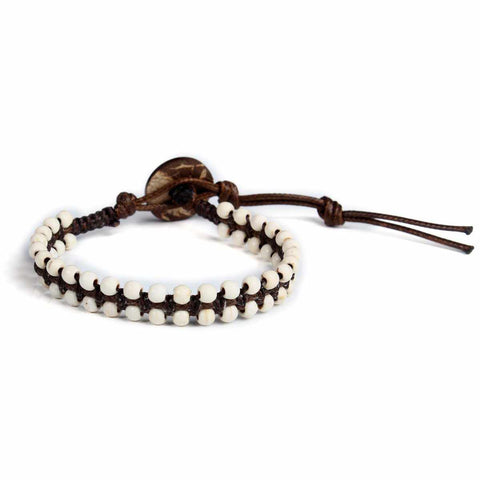 How Lite White Boho Bracelet-Bracelet-Lannaclothesdesign Shop-Lannaclothesdesign Shop