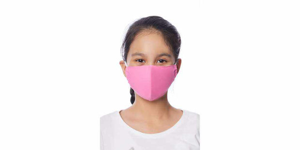 Kids Mouth Cover Face Mask Cotton Mask with Filter Pocket Toddlers-Face Mask-Lannaclothesdesign Shop-Lannaclothesdesign Shop