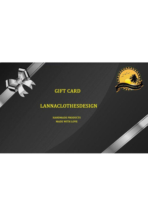 Lannaclothesdesign Shop Gift Card-Lannaclothesdesign Shop