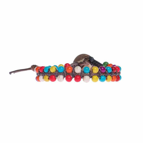 Multi Color Boho Bracelet-Bracelet-Lannaclothesdesign Shop-Lannaclothesdesign Shop