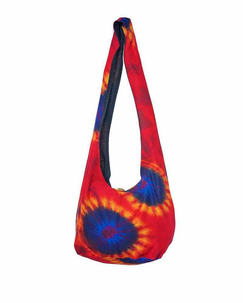 Orange Blue Sling Purse-Bags-Lannaclothesdesign Shop
