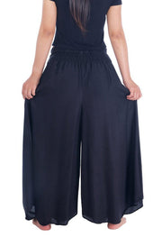 Plain Colors Wide Leg Palazzo Pants-Palazzo-Lannaclothesdesign Shop