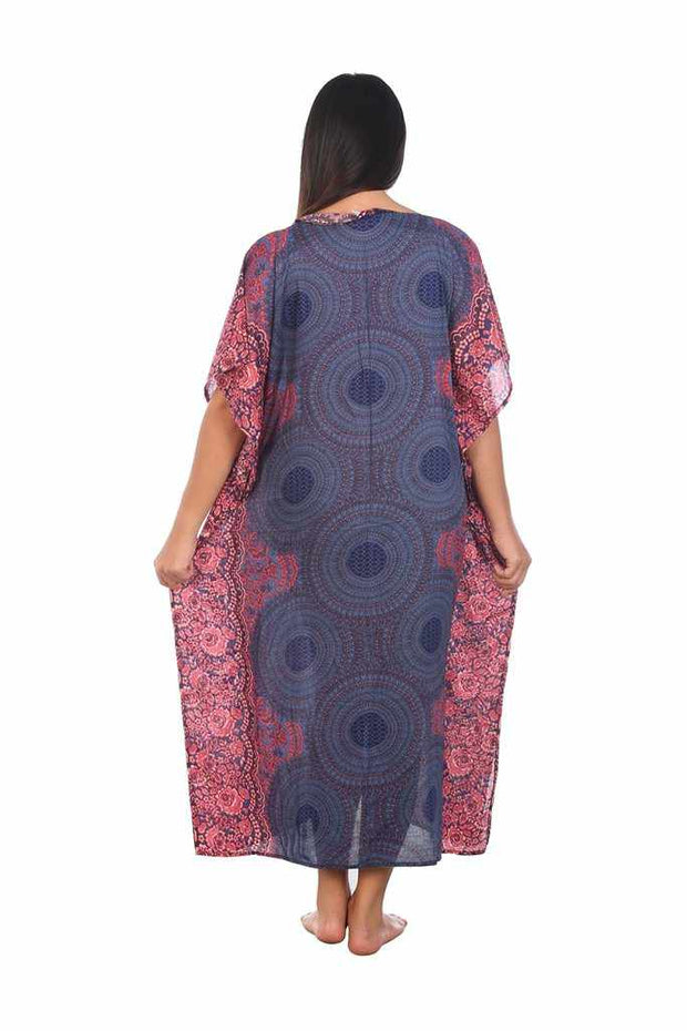 Women's Long Kaftan-Dress-Lannaclothesdesign Shop