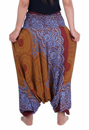 Yoga Harem Pants-Harem Jumpsuit-Lannaclothesdesign Shop-Lannaclothesdesign Shop