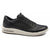 Men`s Leather Sneakers Full Grain Leather Trainer - Black