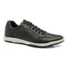 Leather Trainers Full Grain Leather Sneakers - Black