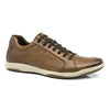 Leather Sneakers Top Grain Leather Trainers - Tan
