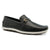 Cayenne Floater Men's Leather Moccasin - Black