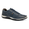 Leather Sneakers Full Grain Leather Trainers - Soft Blue