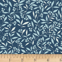 Michael Miller Fabrics Wind Blossom Teal