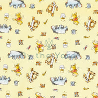 Camelot Fabrics Winnie & Friends - Yellow