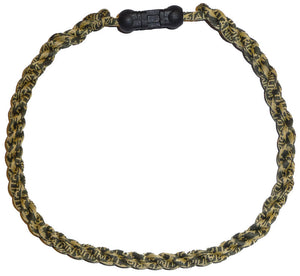 Camo Green Triple Triad Team Color Necklace