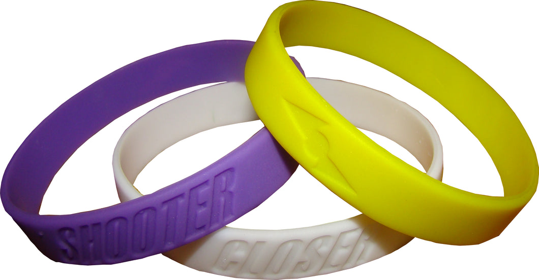 Pinnacle Sports Playa Bands Multi Pack (6 Different Color Combinations)