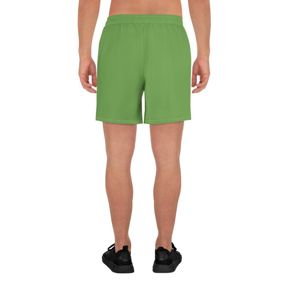 Men's Athletic Long Shorts - Green - Francium Co.