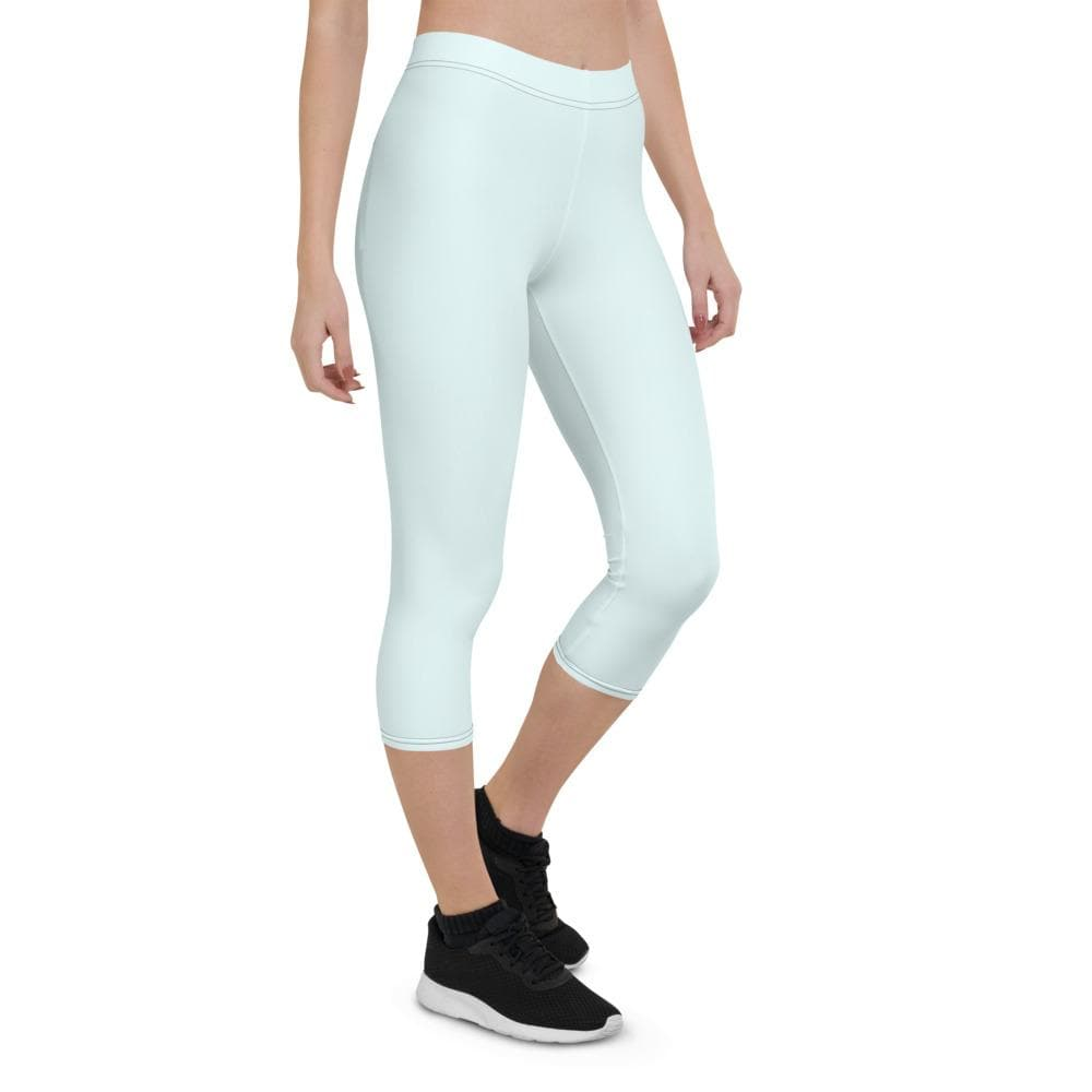Capri Leggings - Aqua - Francium Co.