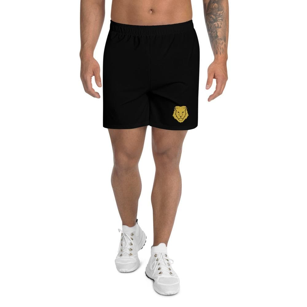 Men's Athletic Long Shorts - Black - Francium Co.
