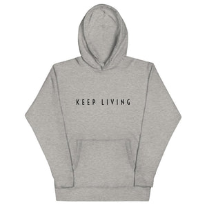 Keep Living Men's Hoodie - Francium Co.
