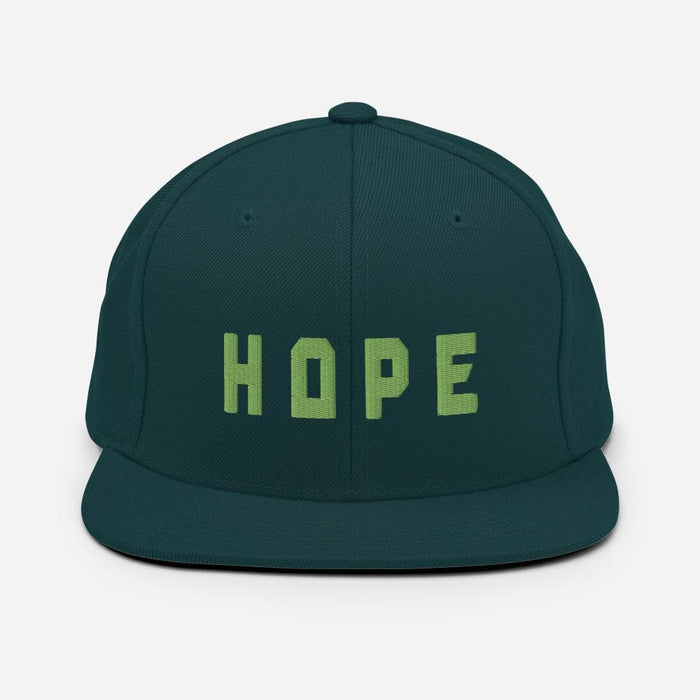 Hope 3D Stitched Snapback Hat - Francium Co.