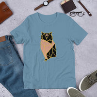 The Owl of Wisdom Women's T-Shirt - Francium Co.