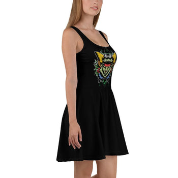 80's Fling Skater Dress - Francium Co.