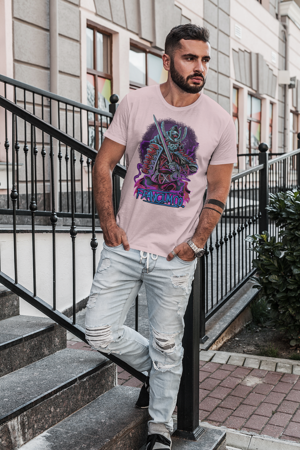 Okyoito, The Fierce - Men's T-shirt - Francium Co.