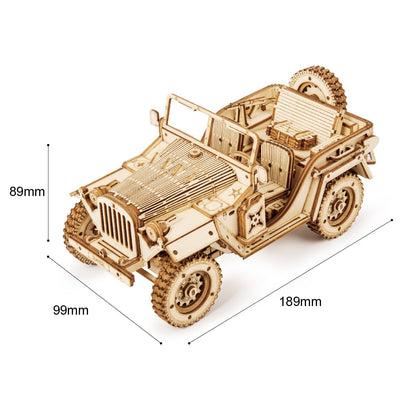 Décoration Steampunk <br> Jeep DIY