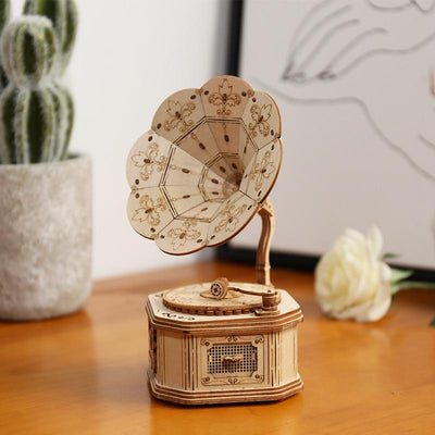 Décoration Steampunk <br> Gramophone DIY
