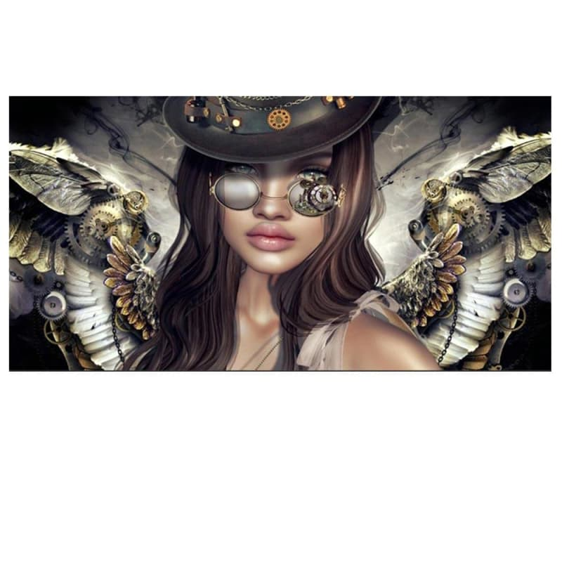 Tableau Steampunk <br> Steam Angel
