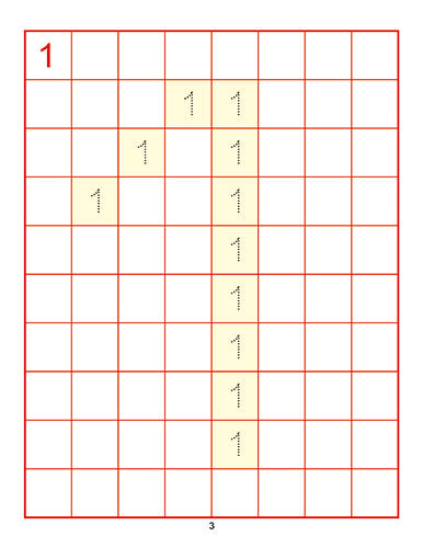 AMAIRA NUMBER WRITING BOOK (1TO100)