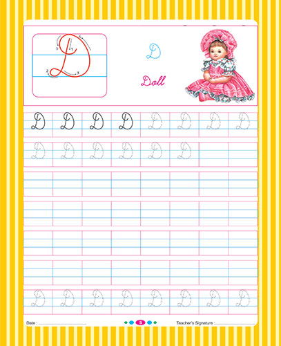 Lets Learn Cursive Writing Part 1 (Capital Letters)
