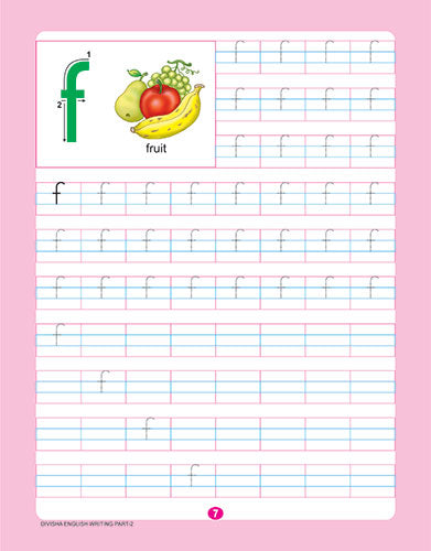 DIVISHA ENGLISH HANDWRITING BOOK   2