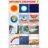 NATURE'S CREATIONS CHART SIZE 12X18 (INCHS) 300GSM ARTCARD - Indian Book Depot (Map House)