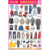 OUR DRESSES CHART SIZE 12X18 (INCHS) 300GSM ARTCARD - Indian Book Depot (Map House)