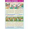 MORAL STORIES CHART NO.8 CHART SIZE 12X18 (INCHS) 300GSM ARTCARD - Indian Book Depot (Map House)