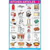 KITCHEN ARTICLES SIZE 24 X 36 CMS CHART NO. 121 - Indian Book Depot (Map House)