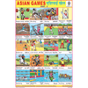 ASIAN GAMES PART II SIZE 24 X 36 CMS CHART NO. 123 - Indian Book Depot (Map House)