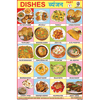 OUR DISHES PART I CHART SIZE 12X18 (INCHS) 300GSM ARTCARD - Indian Book Depot (Map House)