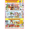 GOVERNMENT ACTIVITIES SIZE 24 X 36 CMS CHART NO. 133 - Indian Book Depot (Map House)