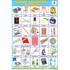 SCHOOL & STATIONERY ARTICLES SIZE 24 X 36 CMS CHART NO. 137 - Indian Book Depot (Map House)
