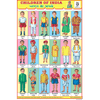 CHILDREN OF INDIA SIZE 24 X 36 CMS CHART NO. 14 - Indian Book Depot (Map House)