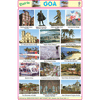 GOA CHART SIZE 12X18 (INCHS) 300GSM ARTCARD - Indian Book Depot (Map House)