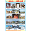 JAMMU KASHMIR SIZE 24 X 36 CMS CHART NO. 184 - Indian Book Depot (Map House)