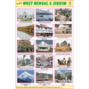 WEST BEGAL & SIKKIM SIZE 24 X 36 CMS CHART NO. 199 - Indian Book Depot (Map House)