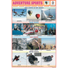ADVENTURE SPORTS CHART SIZE 12X18 (INCHS) 300GSM ARTCARD - Indian Book Depot (Map House)